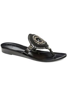 Jack Rogers Gisele Leather Thong Sandals