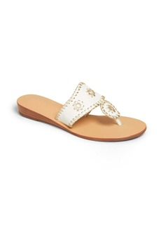 Jack Rogers Jacks Demi Wedge Flip Flop (Women)