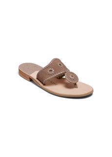 Jack Rogers Jacks Suede Flat Sandals