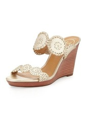 Jack Rogers Luccia Leather Wedge Sandal