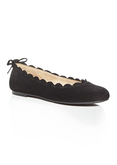 Jack Rogers Lucie Scalloped Ballet Flats