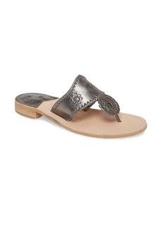 Jack Rogers Metallic Jacks Flip Flop (Women)