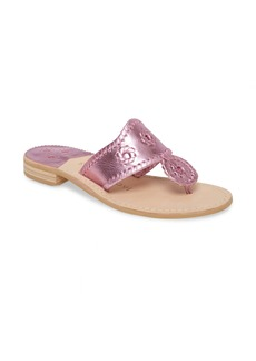 Jack Rogers Metallic Jacks Flip Flop (Women)
