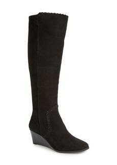 Jack Rogers 'Mia' Knee High Wedge Boot (Women)