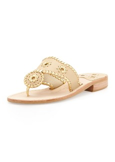 Jack Rogers Nantucket Whipstitch Thong Sandals