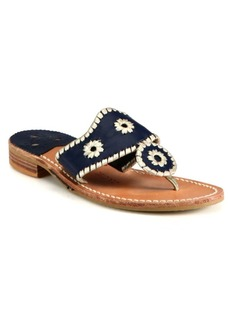 Jack Rogers Palm Beach Leather Sandals