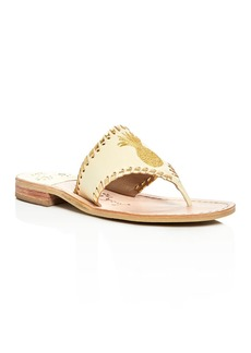 Jack Rogers Pineapple Thong Sandals