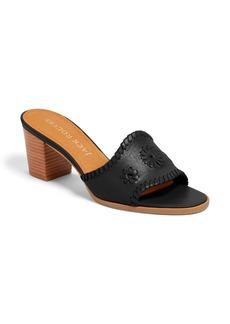 Jack Rogers Rory Block Heel Sandal (Women)