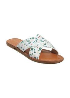 Jack Rogers Sloane Daisy Print Slotted Slide Sandal (Women)