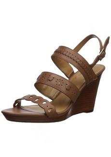 Jack Rogers Women's Arden Wedge Sandal  8 Medium US