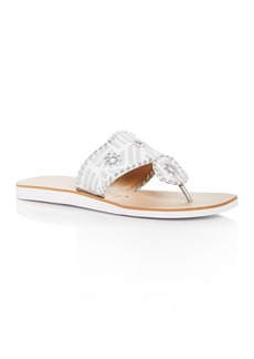 Jack Rogers Women's Captiva Demi Wedge Thong Sandals