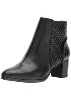 Jack Rogers Women's Deborah Smooth Ankle Boot  5.5 M US