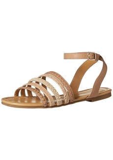Jack Rogers Women's Hannah Flat Sandal  10 Medium US