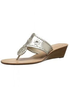 Jack Rogers Women's Jacks Mid Wedge Stacked Wedge Sandal