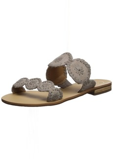 Jack Rogers Women's Lauren Suede Slide Sandal  11 Medium US