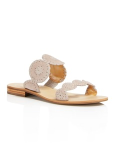 Jack Rogers Women's Lauren Suede Slide Sandals