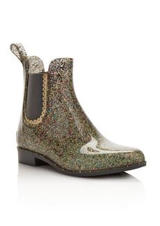 Jack Rogers Women's Sallie Glitter Rain Booties