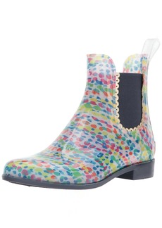 Jack Rogers Women's Sallie Print Rainboot Rain Boot  7 Medium US