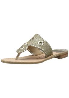 Jack Rogers Women's Sparkle Sandal Platinum