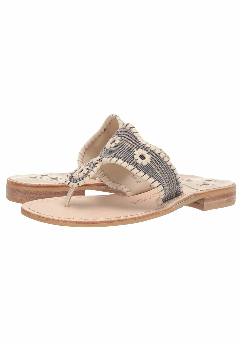 Jack Rogers Jacks Plaid Flat Sandal