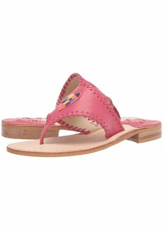 Jack Rogers Kennedy Embroidered Icon Sandal