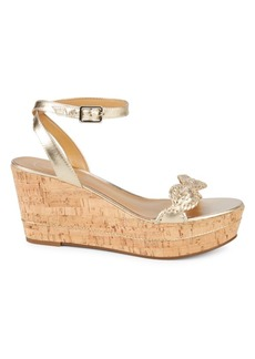 Jack Rogers Keri Leather Wedge Sandals