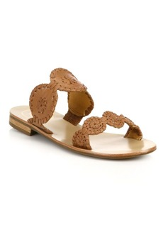 Jack Rogers Lauren Leather Sandals
