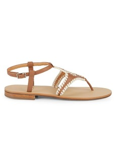 Jack Rogers Maci Leather Sandals