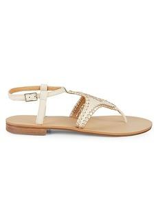 Jack Rogers Maci Leather Sandals