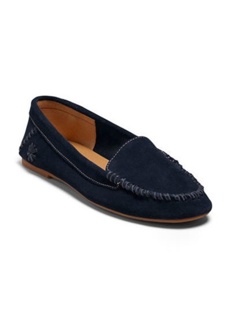 Jack Rogers Millie Suede Moccasin Loafers