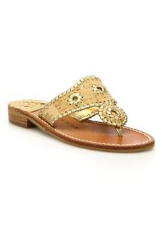 Jack Rogers Napa Valley Cork & Leather Sandals