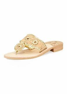 Jack Rogers Napa Valley Cork Thong  Natural/Gold