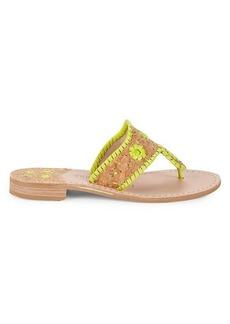 Jack Rogers Slip-On Flat Sandals