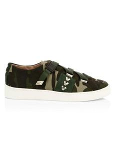 Jack Rogers Warner Camo Canvas Sneakers
