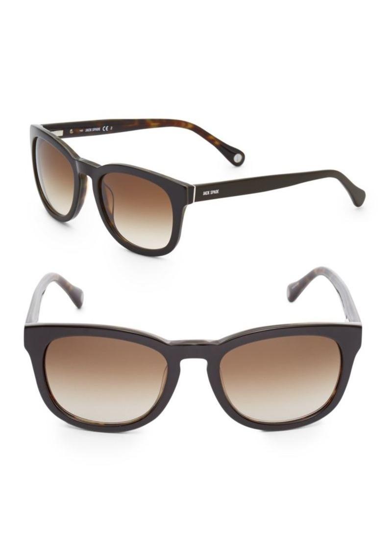 Jack Spade Bryant 52MM Rectangle Sunglasses