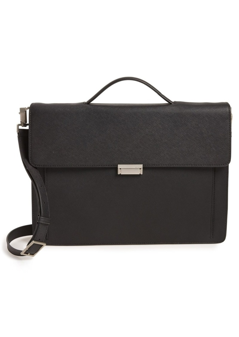 Jack Spade 'Barrow' Saffiano Leather Briefcase