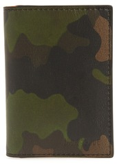 Jack Spade Camo Leather Wallet