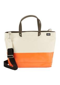 Jack Spade Dipped Industrial Colorblocked Tote Bag