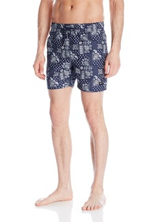 Jack Spade Men's Bandana Grannies Swim Trunk