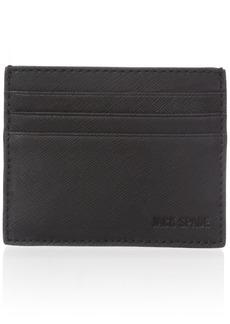 Jack Spade Men's Barrow Leather 6 Card Holder black