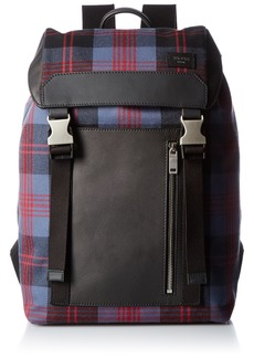 Jack Spade Men's Cocharron Plaid Army Backpack