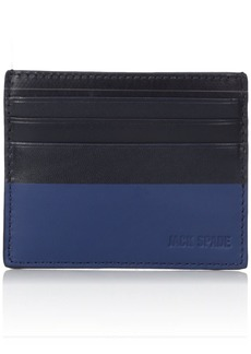Jack Spade Men's Dipped Leather 6 Card Holder