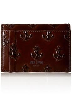 Jack Spade Men's Embossed Anchor Id Wallet