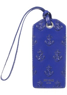 Jack Spade Men's Embossed Anchor Luggage Tag