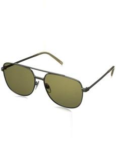 Jack Spade Men's Harvey Rectangular Sunglasses