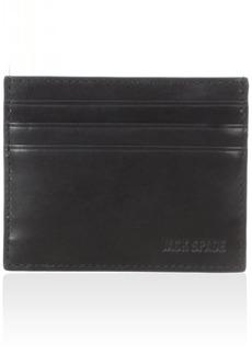 Jack Spade Men's Mitchell Leather 6 Card Holder