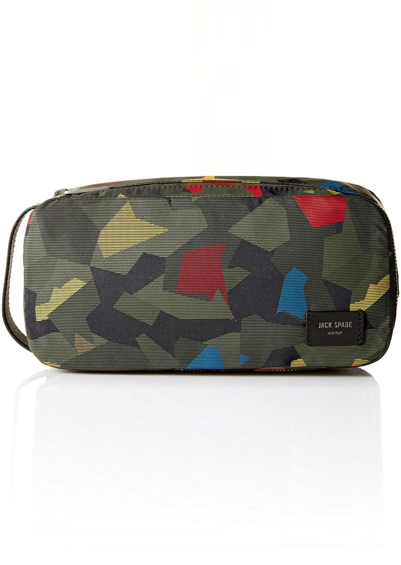a2ebe2094027 Jack Spade Jack Spade Men s Nylon Twill Travel Kit Kaleidoscope Camo ...