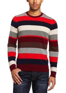 Jack Spade Men's Page Stripe 100% Cashmere Sweater