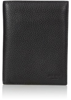 Jack Spade Men's Pebble Leather Travel Wallet