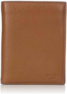 Jack Spade Men's Pebble Leather Travel Wallet One SIze tan